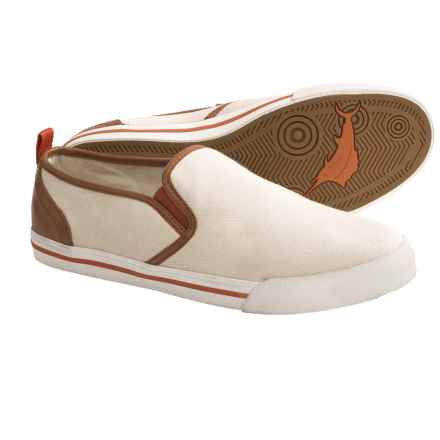 Tommy Bahama Beach Dweller Shoes - Canvas, Slip-Ons (For Men) in Natural - Closeouts