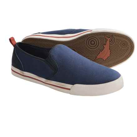 Tommy Bahama Beach Dweller Shoes - Canvas, Slip-Ons (For Men) in Navy - Closeouts