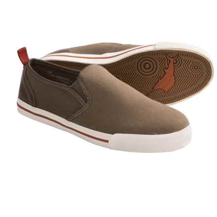Tommy Bahama Beach Dweller Shoes - Canvas, Slip-Ons (For Men) in Olive - Closeouts