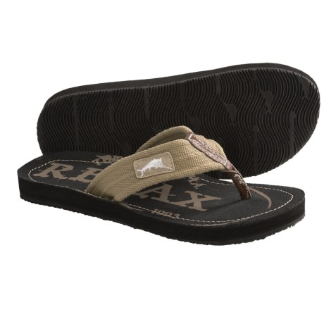 Tommy Bahama Beachwalker Sandals - Flip-Flops (For Men) in Khaki