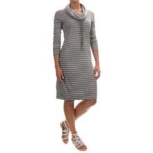 Tommy Bahama Beachwood Funnel Neck Reversible Dress - Long Sleeve (For Women) in Gunmetal Heather - Overstock