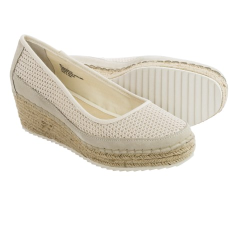 Tommy Bahama Bellah Wedge Shoes - Slip-Ons (For Women) in Fresco