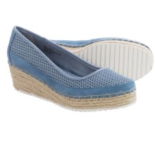 Tommy Bahama Bellah Wedge Shoes - Slip-Ons (For Women) in Stonewash - Closeouts