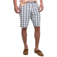 Tommy Bahama Birdie Nights Shorts - Flat Front (For Men) in Black - Closeouts