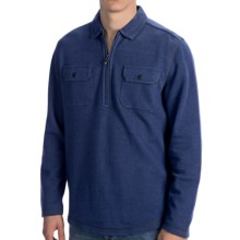 Tommy Bahama Bob Twillin Shirt - Cotton-TENCEL®, Long Sleeve (For Men) in Eclipse - Closeouts