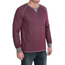 Tommy Bahama Bob Twillin Sweatshirt - Reversible, Cotton-TENCEL® (For Men) in Aged Claret - Closeouts