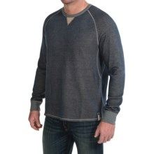 Tommy Bahama Bob Twillin Sweatshirt - Reversible, Cotton-TENCEL® (For Men) in Dress Blues - Closeouts