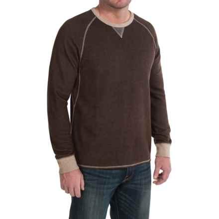 Tommy Bahama Bob Twillin Sweatshirt - Reversible, Cotton-TENCEL® (For Men) in Java - Closeouts
