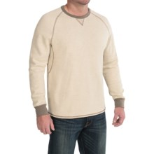 Tommy Bahama Bob Twillin Sweatshirt - Reversible, Cotton-TENCEL® (For Men) in Tofu - Closeouts
