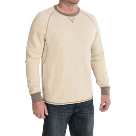 Tommy Bahama Bob Twillin Sweatshirt - Reversible, Cotton-TENCEL® (For Men) in Tofu - Closeouts