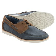 Tommy Bahama Brody Boat Shoes - Leather (For Men) in Denim - Closeouts