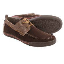 Tommy Bahama Calderon II Boat Shoes - Suede (For Men) in Dark Brown - Closeouts