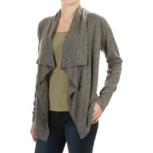 Tommy Bahama Calvert Cardigan Sweater - Wool-Linen (For Women) in Cave Heather - Overstock