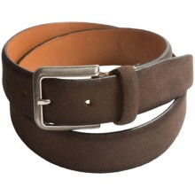 Tommy Bahama Coastal Ease Leather Belt (For Men) in Brown - Closeouts