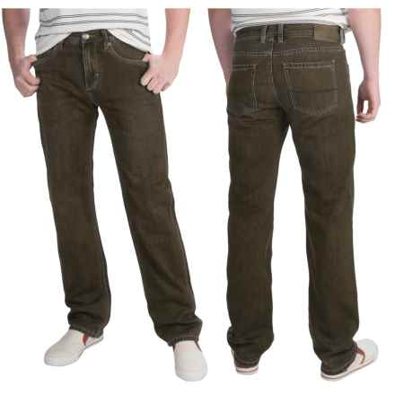 Tommy Bahama Coastal Island Straight Denim Jeans - Standard Fit, Straight Leg (For Men) in Coffee Overdye - Closeouts