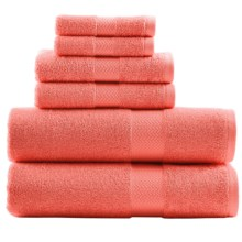 Tommy Bahama Cypress Bath Towel Set - 6-Piece in Deep Coral - Overstock