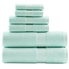 Tommy Bahama Cypress Bath Towel Set - 6-Piece in Iced Turquoise - Closeouts