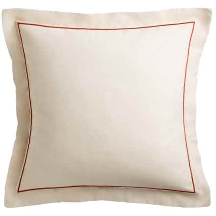 Tommy Bahama Daintree Pillow Sham - Euro in Ivory - Closeouts
