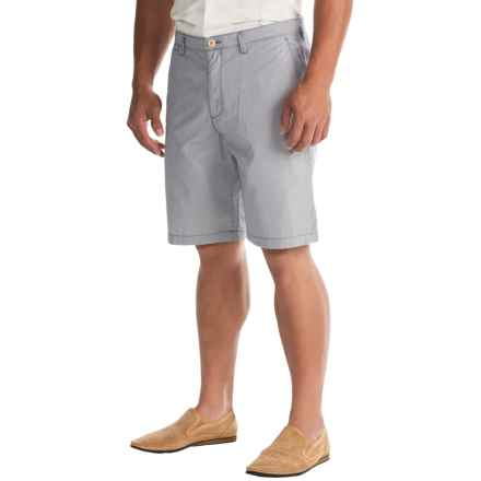 Tommy Bahama De Lucca Stripe Shorts (For Men) in Navy - Closeouts
