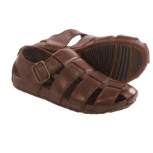 Tommy Bahama Del Ray Fisherman Sandals - Leather (For Men) in Dark Brown - Closeouts
