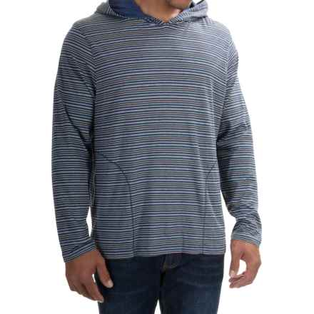 Tommy Bahama Feeder Stripe Hoodie (For Men) in Stripe Blue Heather - Closeouts