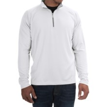 Tommy Bahama Firewall Shirt - Zip Neck, Long Sleeve (For Men) in Bright White - Closeouts