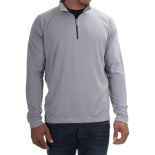 Tommy Bahama Firewall Shirt - Zip Neck, Long Sleeve (For Men) in Sleet - Closeouts