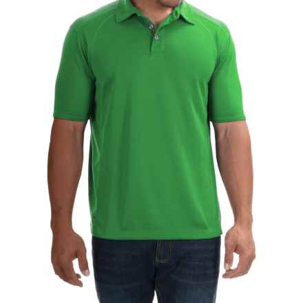 Tommy Bahama Firewall Spectator Polo Shirt - Short Sleeve (For Men) in Green Continent - Closeouts