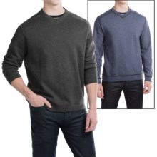 Tommy Bahama Flip Side Twill Reversible Shirt - V-Neck, Long Sleeve (For Men) in Cinder Heather - Closeouts