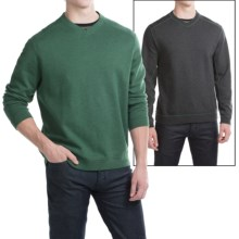 Tommy Bahama Flip Side Twill Reversible Shirt - V-Neck, Long Sleeve (For Men) in Laurel Green Heather - Closeouts