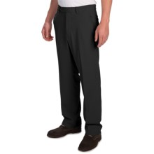 Tommy Bahama Flying Fishbone Pants - Flat Front (For Men) in Black - Closeouts