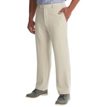 Tommy Bahama Flying Fishbone Pants - Flat Front (For Men) in Khaki Sands - Closeouts
