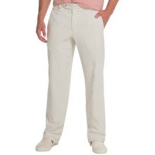 Tommy Bahama Flying Fishbone Pants - Flat Front (For Men) in Spray - Closeouts