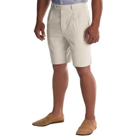 Tommy Bahama Flying Fishbone Silk Shorts (For Men) in Spray - Closeouts