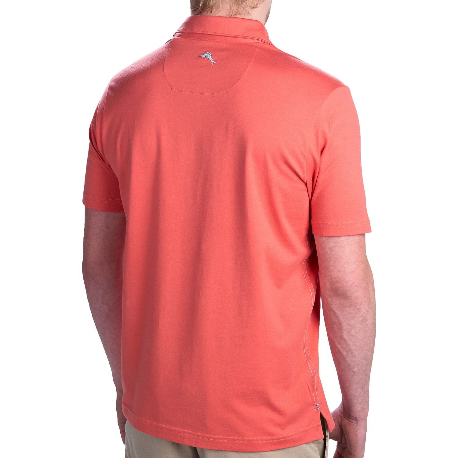 Tommy bahama game on spectator polo shirt for men 9438n for Cotton on polo shirt