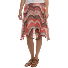 Tommy Bahama Georgia Winds Silk Skirt - Fully Lined (For Women) in Red Hot - Overstock
