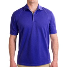Tommy Bahama Gigabyte High-Performance Polo Shirt - Short Sleeve (For Men) in Capris Blue - Closeouts
