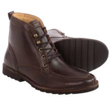 Tommy Bahama Glenrock Lace Boots (For Men) in Ebony - Closeouts