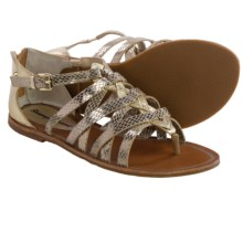 Tommy Bahama Halina Gladiator Sandals - Leather (For Women) in Light Gold - Closeouts