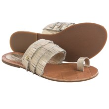Tommy Bahama Halola Sandals - Suede (For Women) in Gold Dust - Closeouts