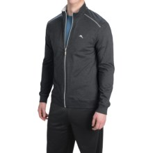 Tommy Bahama Heather Cotton-Modal Jacket (For Men) in Black Heather - Closeouts