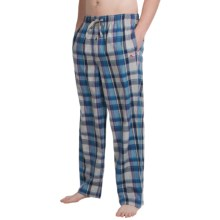 Tommy Bahama Heather Plaid Lounge Pants (For Men) in Blue - Closeouts
