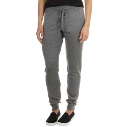 Tommy Bahama Hobar Sweater-Knit Joggers (For Women) in Gunmetal Heather - Overstock