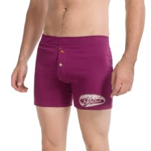 Tommy Bahama Jersey-Knit Boxer Briefs - Cotton-Modal (For Men) in Moroccan Plum - Closeouts