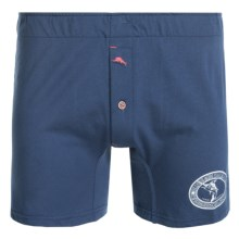 Tommy Bahama Knit Boxer Briefs - Cotton-Modal (For Men) in Navy Marlin - Closeouts