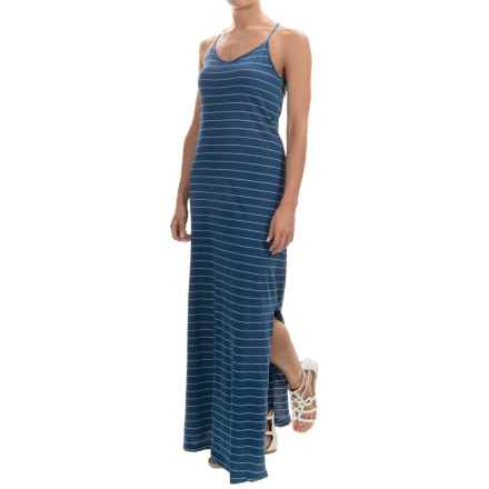 Tommy Bahama Larch Striped Maxi Dress - Sleeveless (For Women) in Dark Indigo - Overstock
