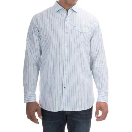 Tommy Bahama Lazio Stripe Shirt - Long Sleeve (For Men) in White - Closeouts