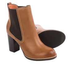 Tommy Bahama Lummi Stacked Heel Boots (For Women) in Cognac - Closeouts