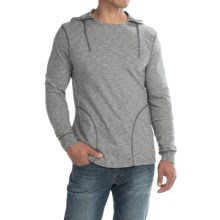 Tommy Bahama Marled Jersey Hoodie (For Men) in Black - Closeouts