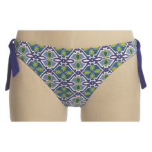 Tommy Bahama Medallion Treasure Bikini Swimsuit Bottoms - Hipster (For Women) in Multi Green & Blue - Closeouts